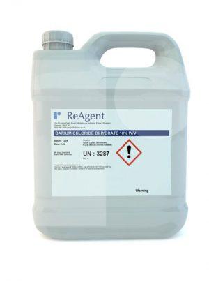 Barium Chloride Dihydrate 10 wv 2.5L packsize