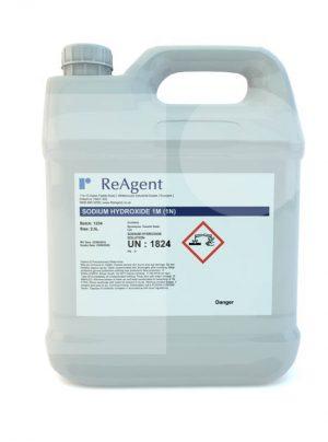 Caustic Soda 1M 1N 2.5L packsize