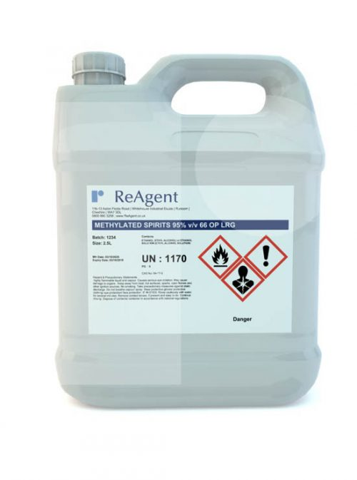 Denatured Alcohol IMS 95 2.5L packsize