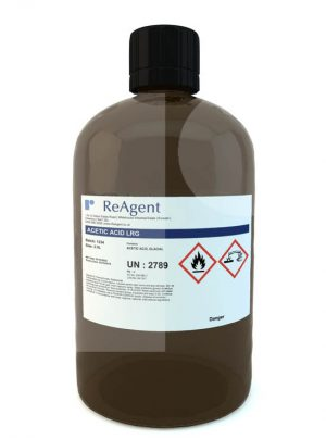 Ethanoic Acid Glacial Laboratory Use 2.5L Packsize
