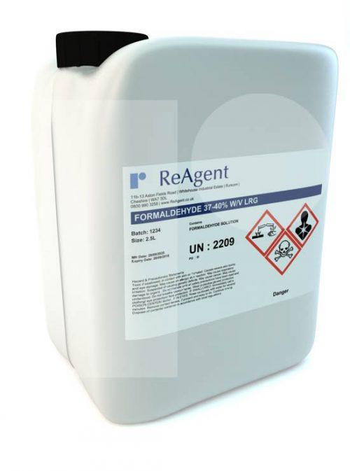 Formaldehyde Laboratory Use 2.5L packsize
