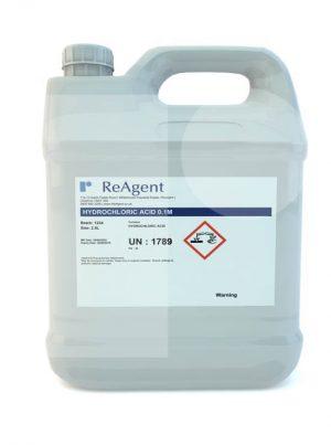 Hydrochloric Acid 0.1M 0.1N 2.5L packsize