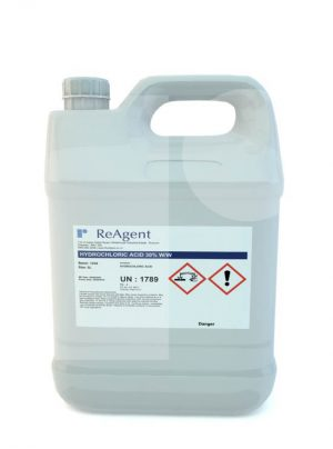 Hydrochloric Acid 30 ww 5L packsize