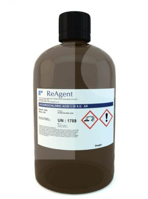 Hydrochloric Acid Analytical Use 2.5L packsize