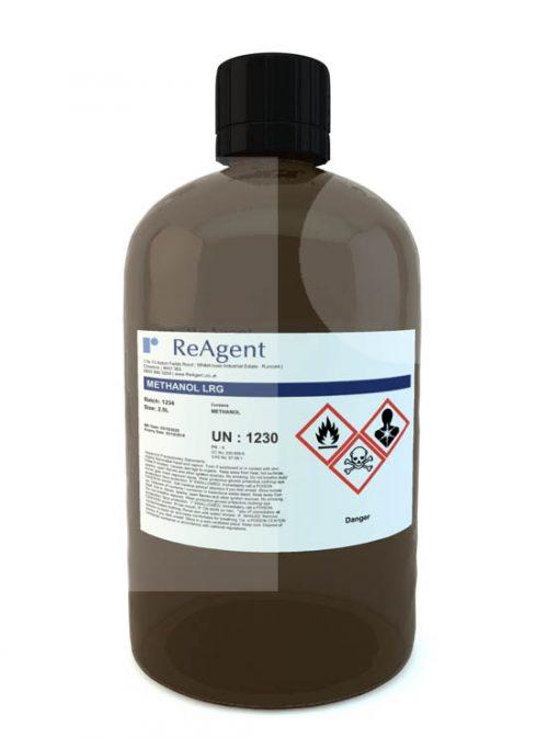 Methanol Laboratory Use 2.5L packsize