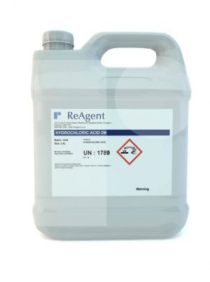 Muriatic Acid 2M 2.5L packsize
