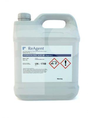 Muriatic Acid 4M approx 2.5L packsize