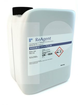 Sodium Hydroxide 0.1M 0.1N 2.5L packsize