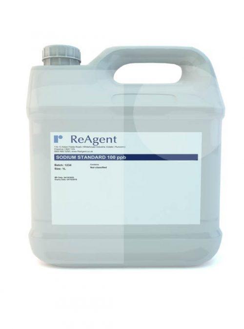 Sodium Standard 100ppb 1L packsize
