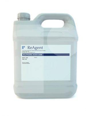 Sulphuric Acid 0.05M 0.1N 2.5L packsize